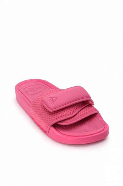 ADIDAS X PHARRELL WILLIAMS Pink Pool Slides 1
