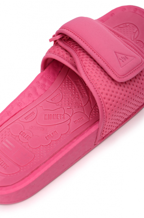 ADIDAS X PHARRELL WILLIAMS Pink Pool Slides 2