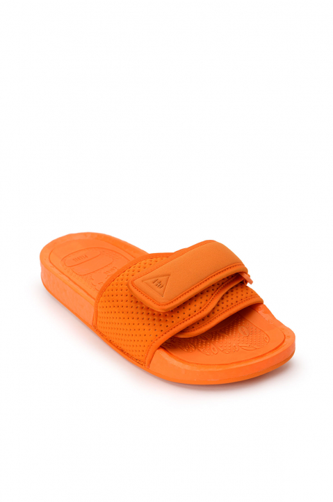 ADIDAS X PHARRELL WILLIAMS Orange Pool Slides 1
