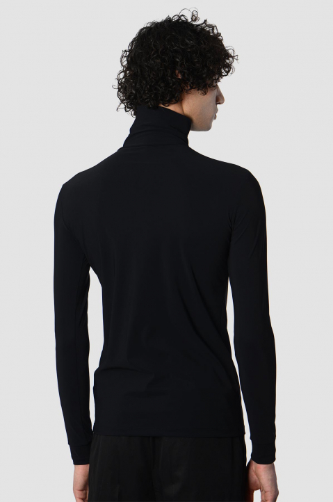 RAF SIMONS Slim Black Turtleneck 1