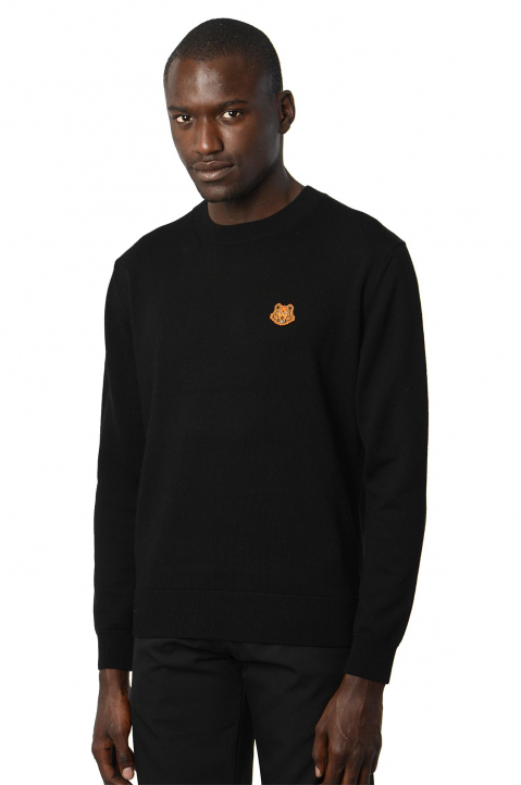 KENZO Black Tiger Sweater  0