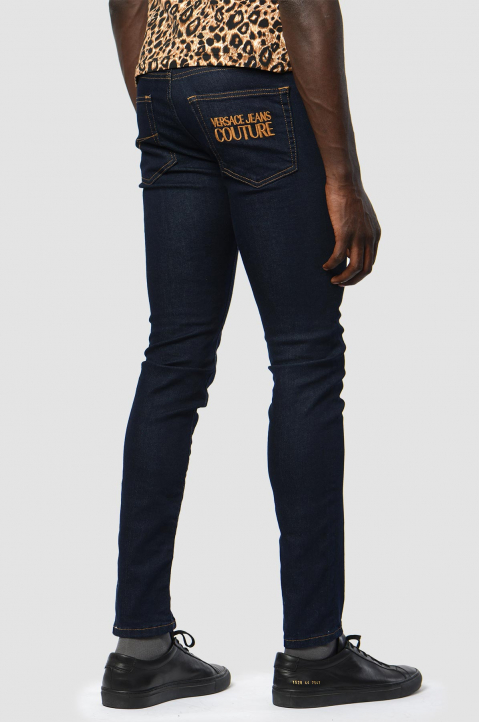 VERSACE JEANS COUTURE Skinny Dark Blue Jeans 1