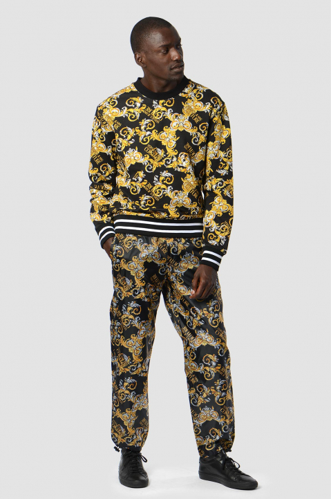 VERSACE JEANS COUTURE Logo Baroque Trackpants 2
