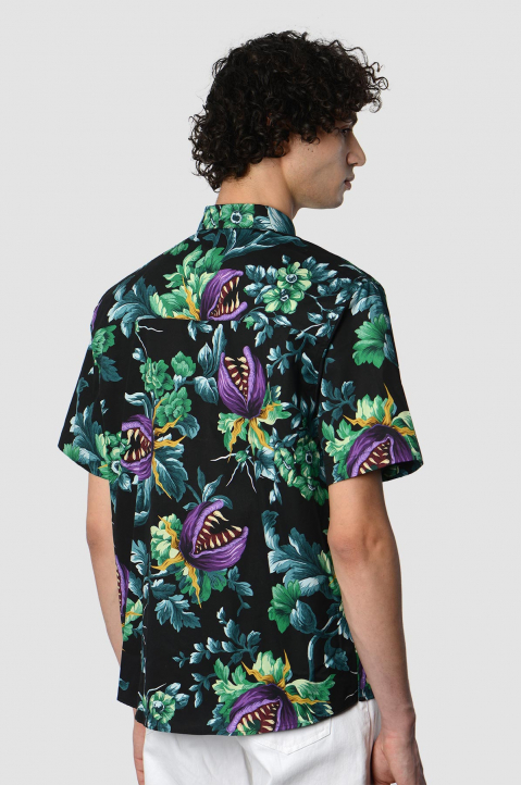 MSMG Short Sleeve Floral Shirt 1