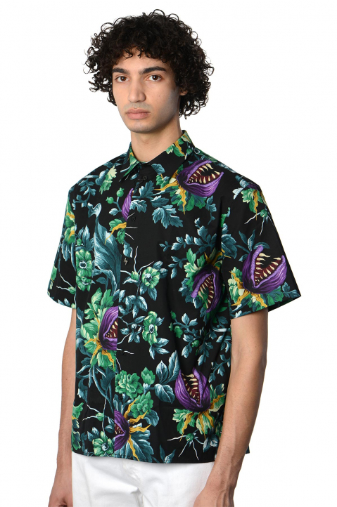 MSMG Short Sleeve Floral Shirt 0