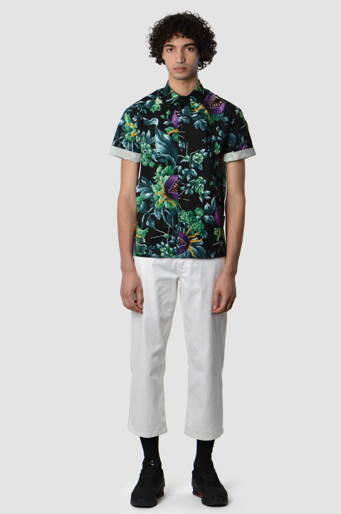MSMG Short Sleeve Floral Shirt 3