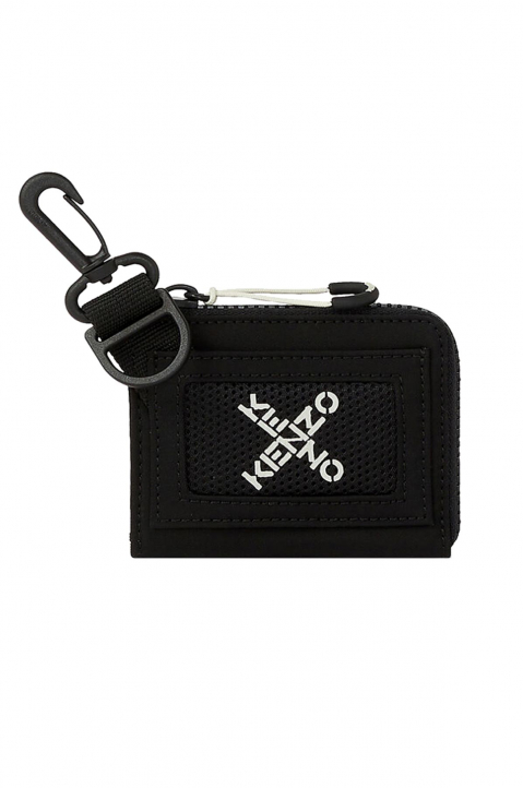 KENZO Black Small Zip Wallet 0