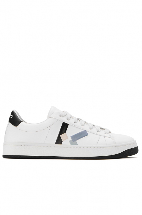 KENZO White Low Top Sneaker 0