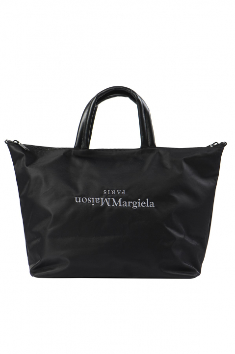 MAISON MARGIELA Black Nylon Travelling Bag 0