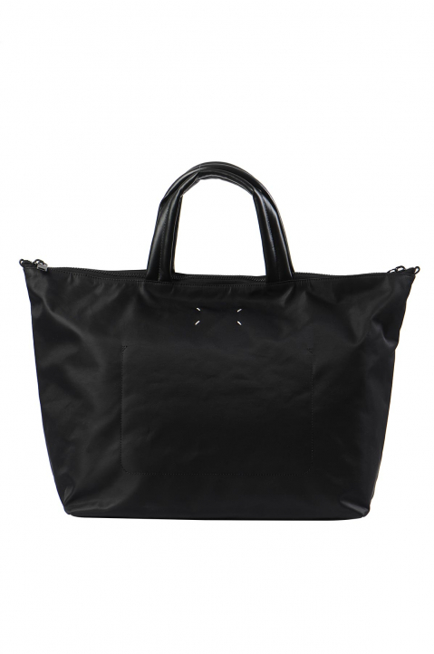 MAISON MARGIELA Black Nylon Travelling Bag 1
