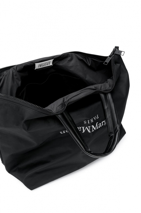 MAISON MARGIELA Black Nylon Travelling Bag 3