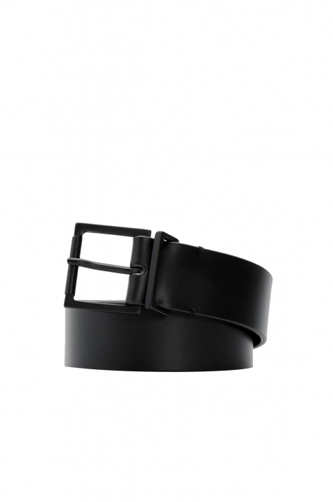 MAISON MARGIELA Thin Black Belt 0