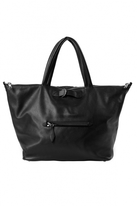 MAISON MARGIELA Black Asymmetric Travelling Bag 0