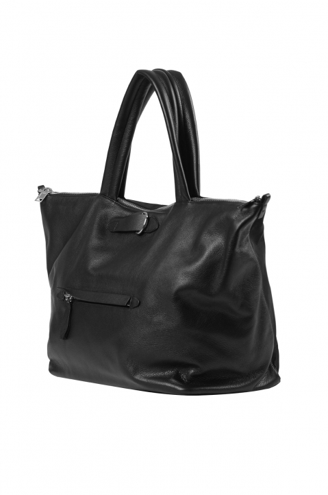MAISON MARGIELA Black Asymmetric Travelling Bag 2