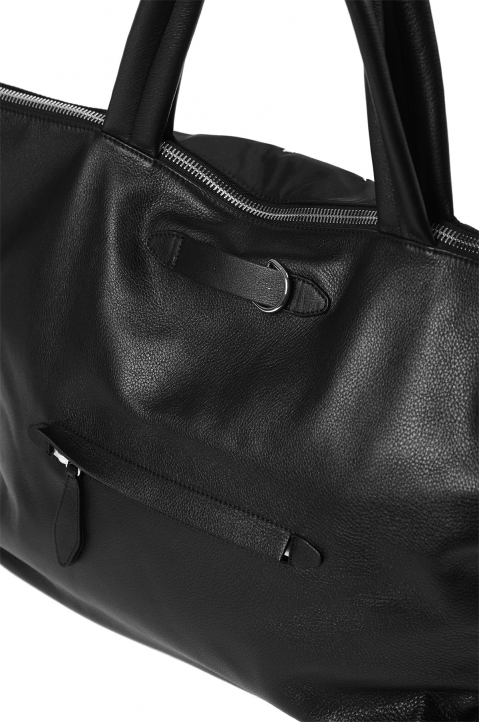 MAISON MARGIELA Black Asymmetric Travelling Bag 3