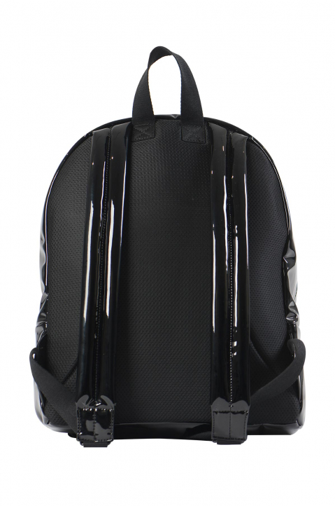 MAISON MARGIELA Black Shiny Backpack  1