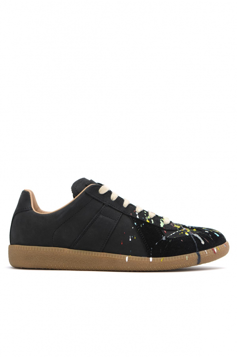 MAISON MARGIELA Painter Black Replica Sneakers  0