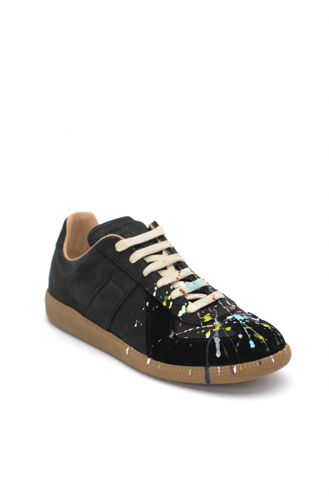 MAISON MARGIELA Painter Black Replica Sneakers  1