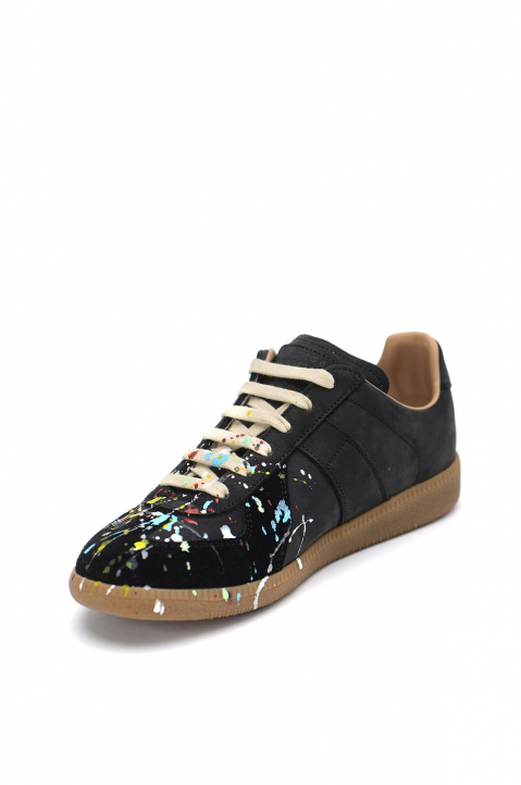 MAISON MARGIELA Painter Black Replica Sneakers  2