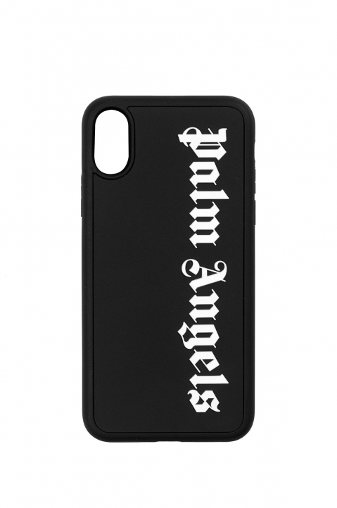PALM ANGELS Black Logo Iphone X Case 0