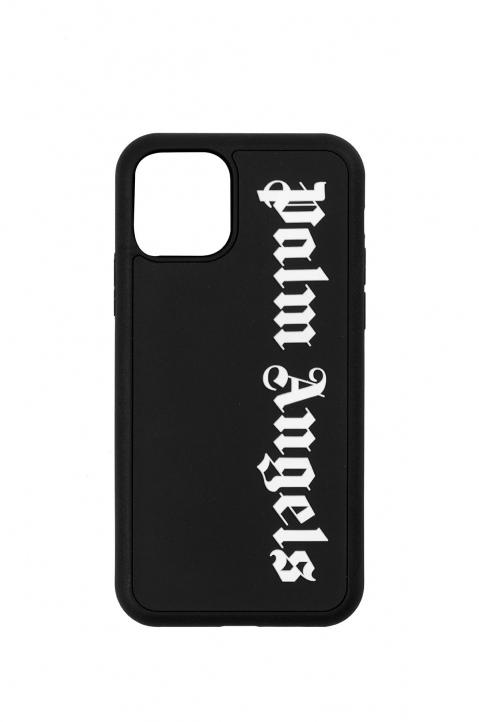 PALM ANGELS Black Logo Iphone 11 Pro Case 0
