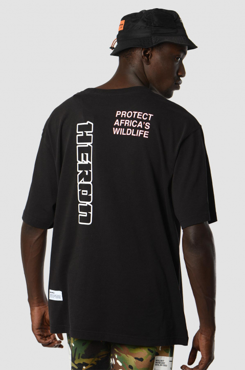 HERON PRESTON x MOD Black Royal Navy Tee 1