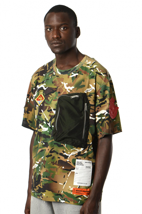 HERON PRESTON x MOD Pocket Camo Tee 0