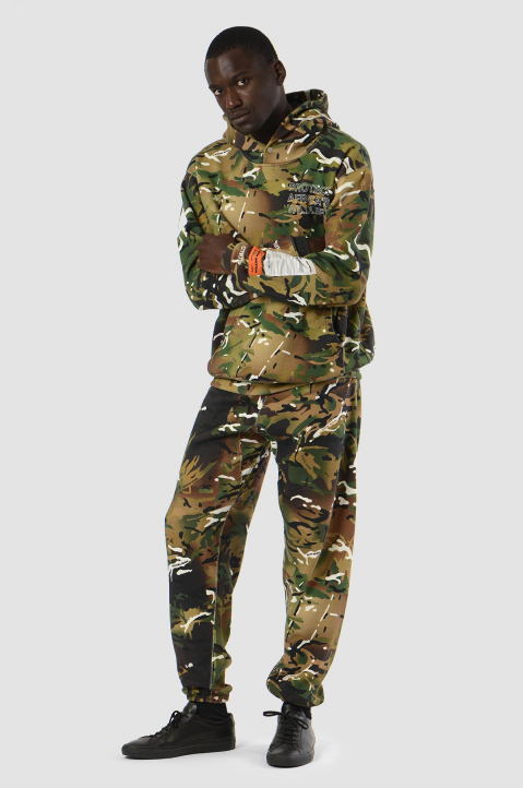 HERON PRESTON x MOD Camo Sweatpants 2