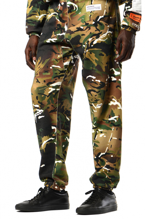 HERON PRESTON x MOD Camo Sweatpants 0
