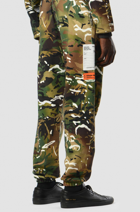 HERON PRESTON x MOD Camo Sweatpants 1