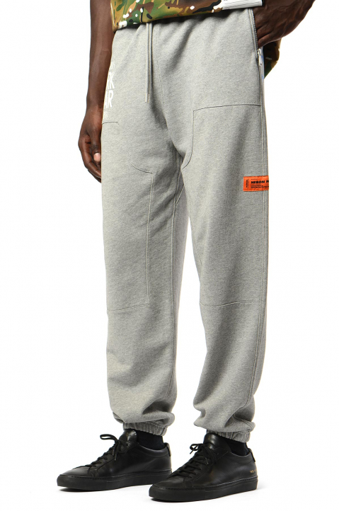 HERON PRESTON Grey Carpenter Sweatpants 0
