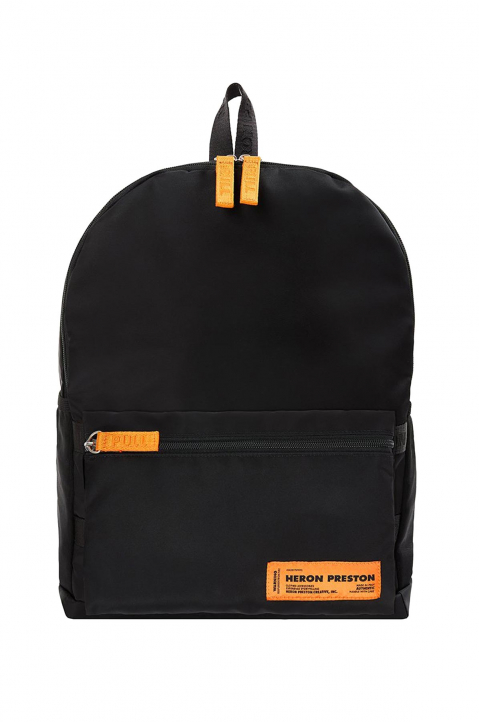 HERON PRESTON Black Fanny Backpack 0