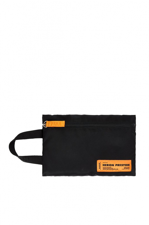HERON PRESTON Black Fanny Backpack 3