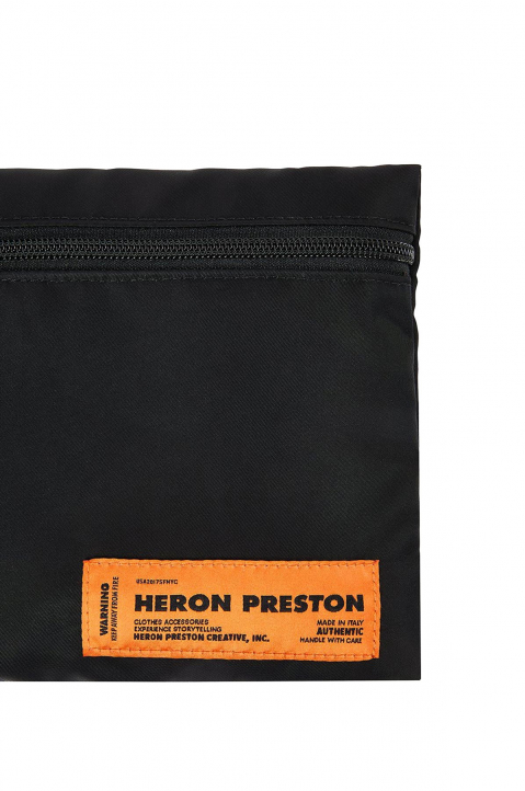 HERON PRESTON Black Fanny Backpack 5