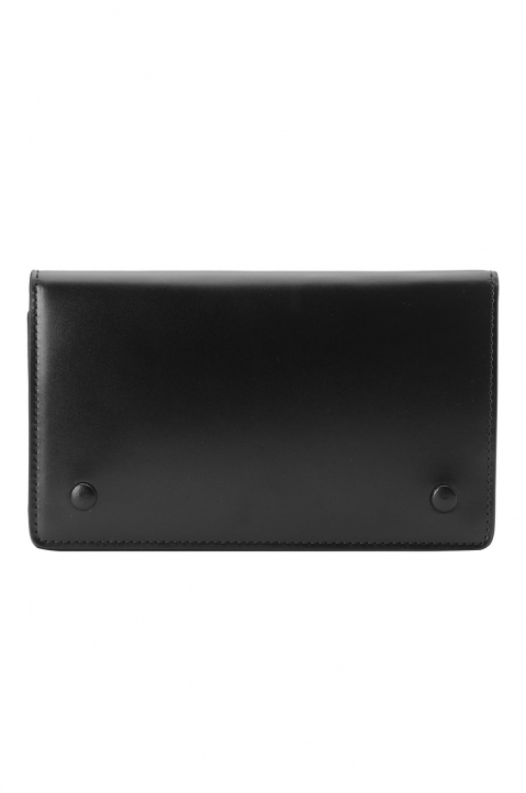 MAISON MARGIELA Black Flip Wallet 0