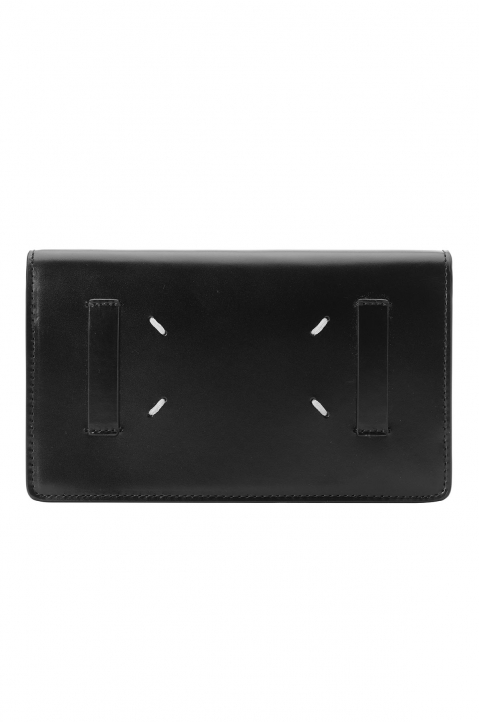 MAISON MARGIELA Black Flip Wallet 1