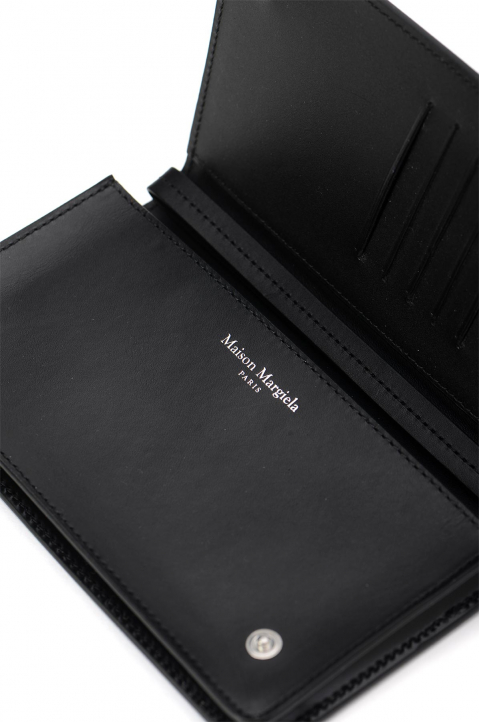 MAISON MARGIELA Black Flip Wallet 3