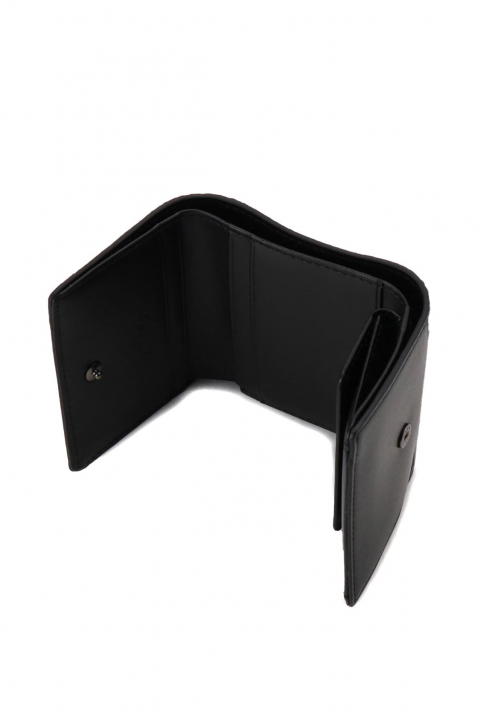 DISCORD Black Trifold Wallet 3