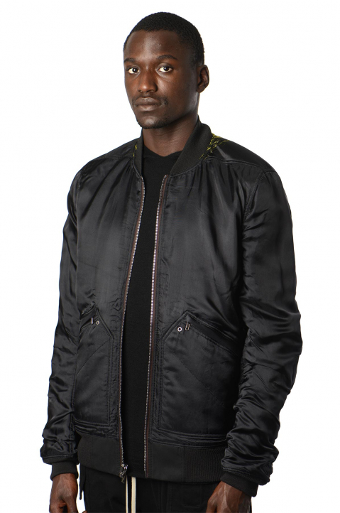 RICK OWENS Reversible Acid Flight Bomber Jacket 0