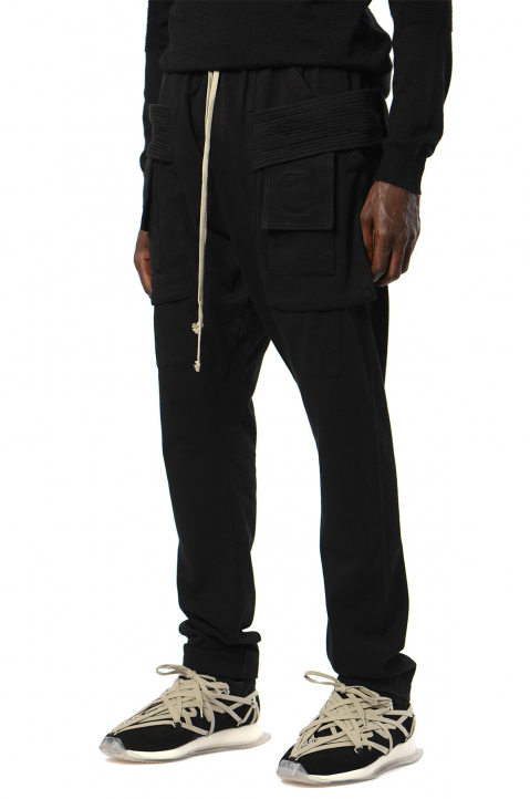 DRKSHDW Creatch Cargo Black Trousers 0