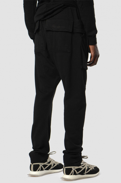DRKSHDW Creatch Cargo Black Trousers 1