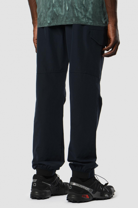 MSGM Navy Cargo Trackpants 1