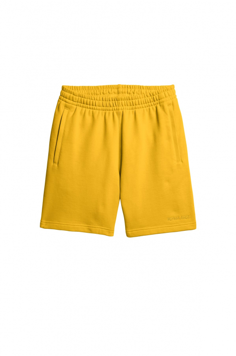 ADIDAS X PHARRELL WILLIAMS Human Race Premium Basics Yellow Shorts  0