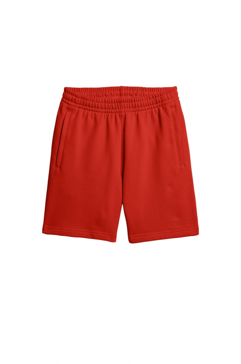 ADIDAS X PHARRELL WILLIAMS Human Race Premium Basics Red Shorts  0