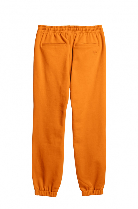 ADIDAS X PHARRELL WILLIAMS Human Race Premium Basics Orange Sweatpants  1