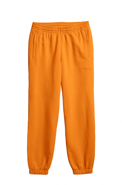 ADIDAS X PHARRELL WILLIAMS Human Race Premium Basics Orange Sweatpants  0