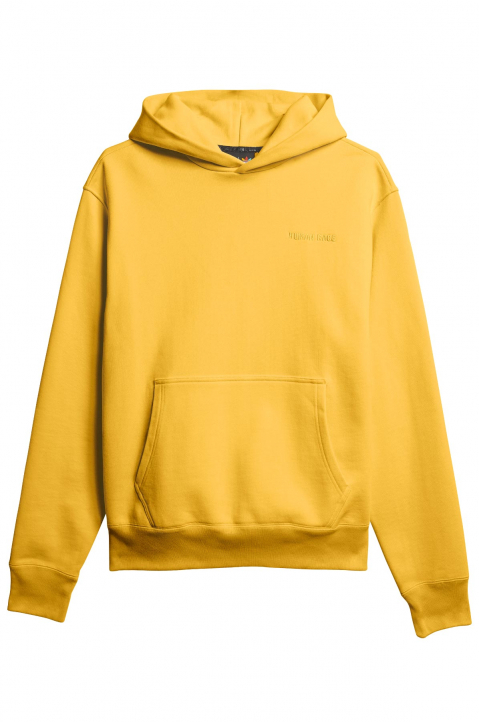 ADIDAS X PHARRELL WILLIAMS Human Race Premium Basics Yellow Hoodie 0