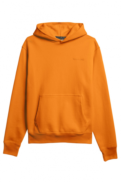 ADIDAS X PHARRELL WILLIAMS Human Race Premium Basics Orange Hoodie 0