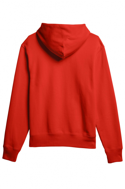 ADIDAS X PHARRELL WILLIAMS Human Race Premium Basics Red Hoodie 1