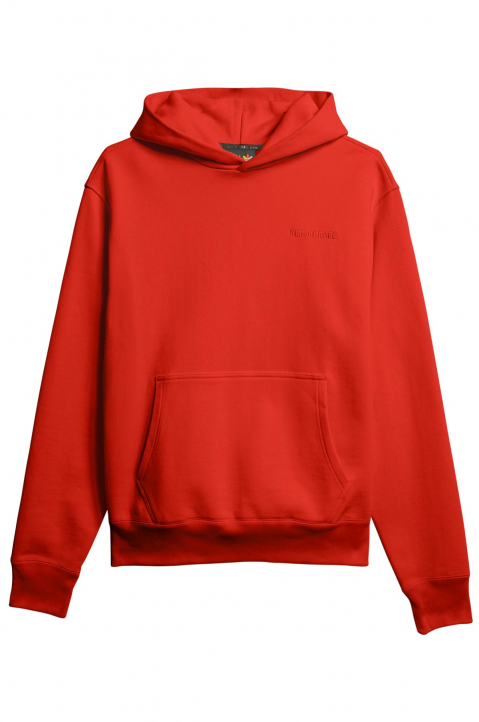 ADIDAS X PHARRELL WILLIAMS Human Race Premium Basics Red Hoodie 0